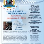 Craig Wolfley, Salute to Veterans, Pro Football Hall of Fame, Veteran's Day