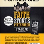 Pittsburgh sports, Stage AE, Craig Wolfley, Tunch Ilkin, For Men Only