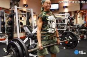 Things That Only Interest Wolf: Willie Murphy, 77, of Rochester, NY is the 2014 World Natural Weightlifting Federation Lifter of the Year. Photo courtesy Rochester Democrat & Chronicle, USA Today