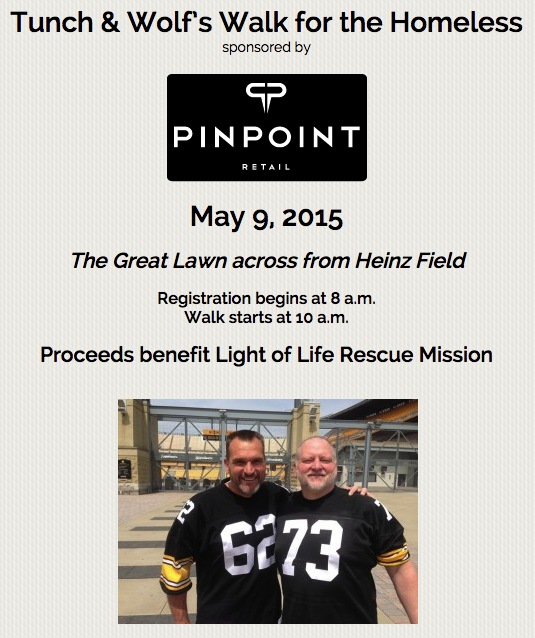 Light of Life Rescue Mission 2015 Tunch and Wolf Walk for the Homeless
