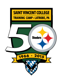 Pittsburgh Steelers Training Camp Logo 50 years