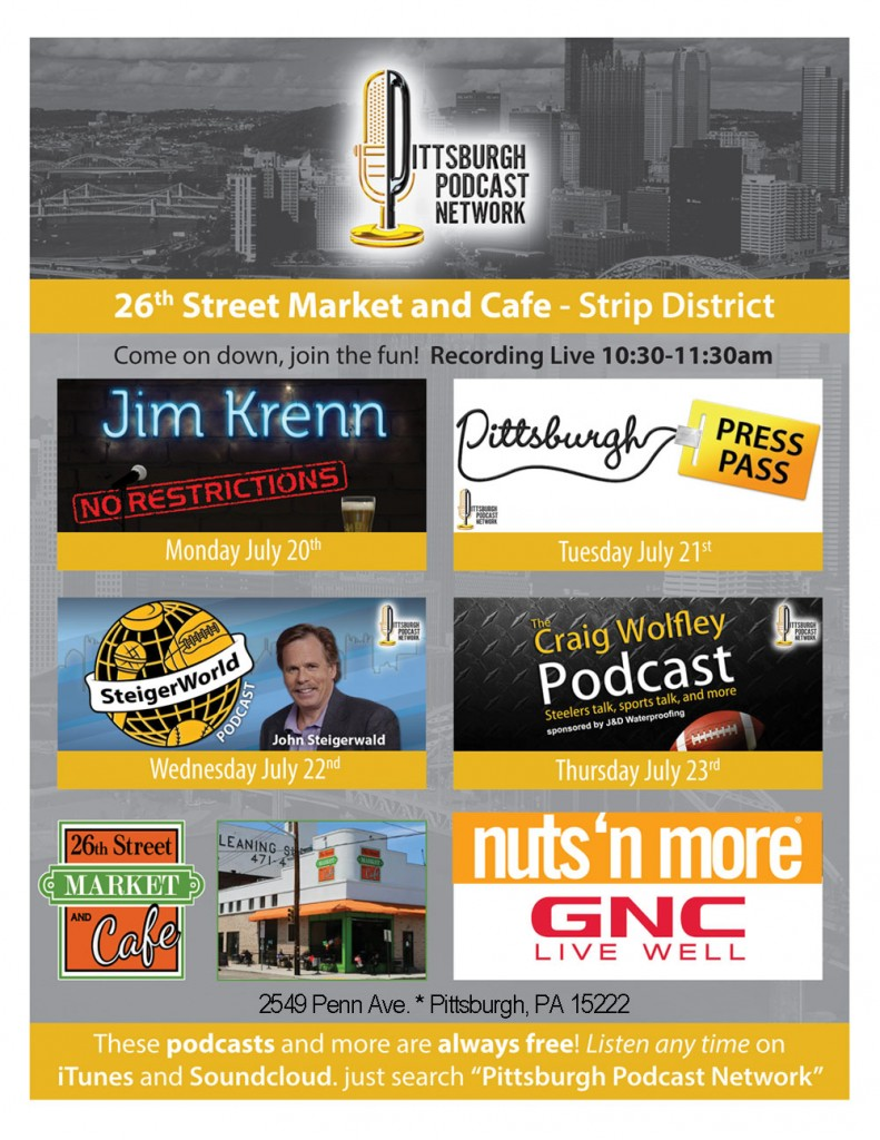 Craig Wolfley Steelers GNC nuts n more pittsburgh podcast network