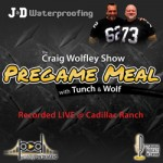 tunch & wolf pregame meal video show