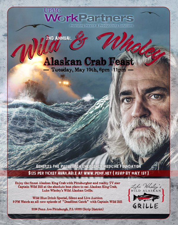 Captain Wild Bill Luke Wholey's Alaskan Crab Feast