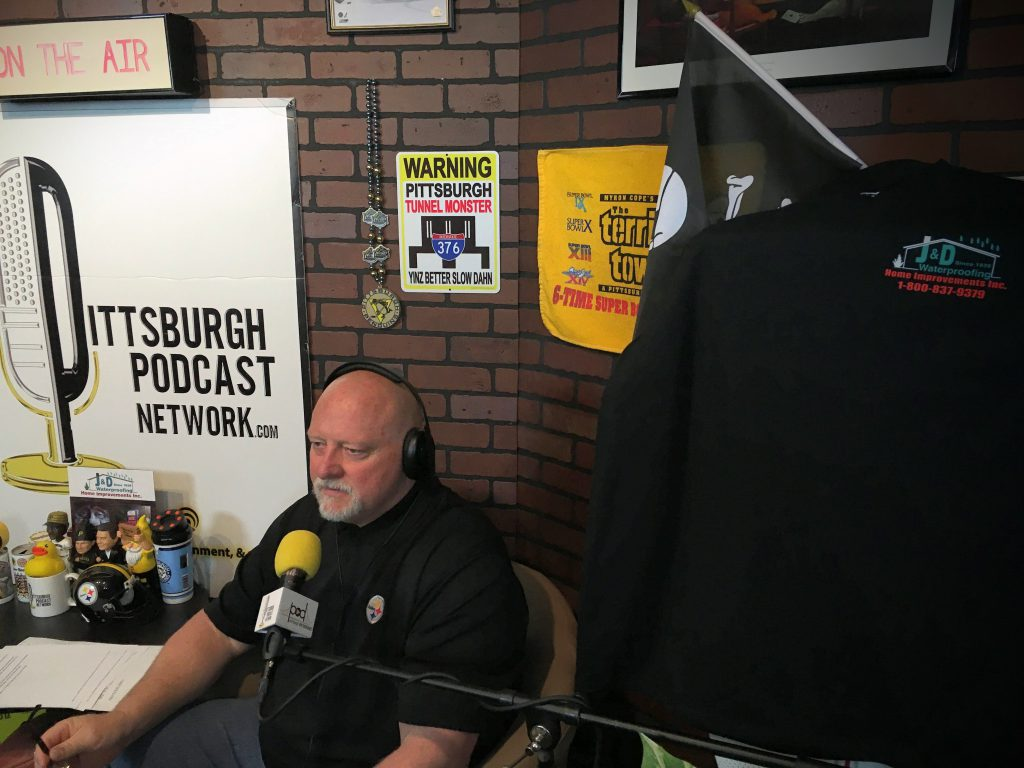 Craig Wolfley is in the Wolf's Den, talking Steelers and a whole lot more, thanks to our friends at J&D Waterproofing! Call then at 1-800-VERY-DRY for all of your home improvement needs.