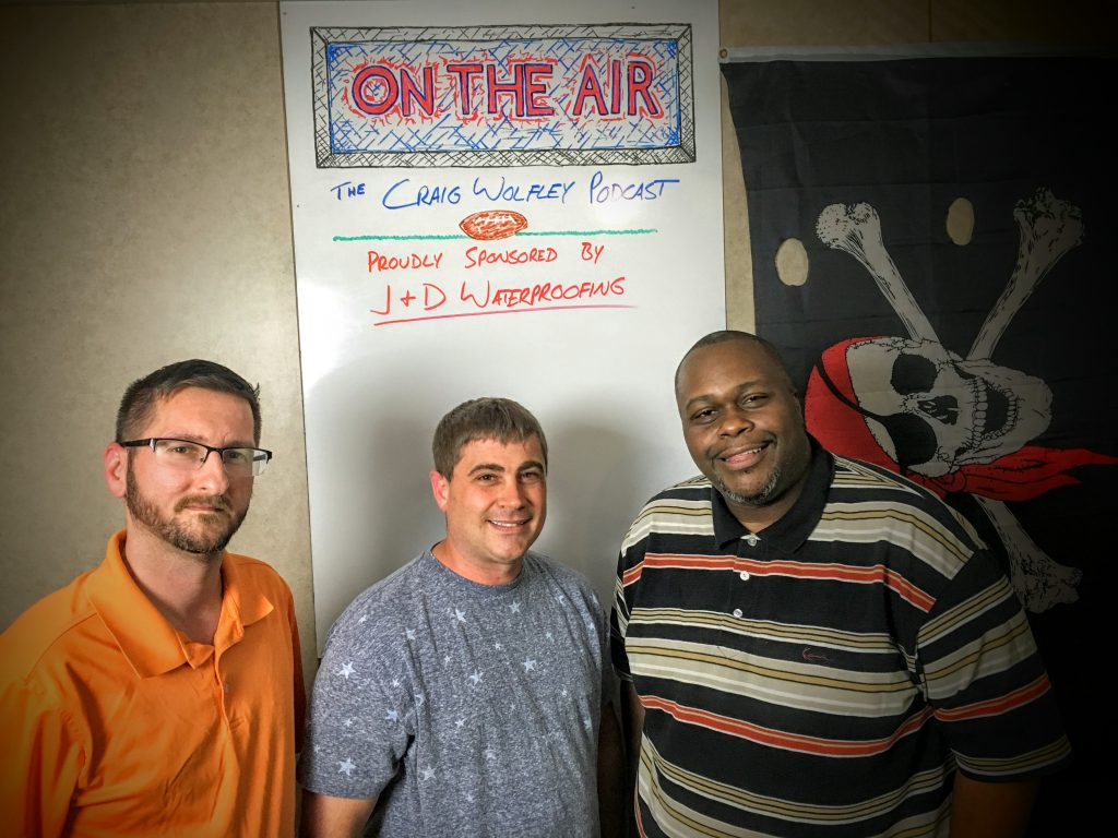 The Craig Wolfley Podcast wouldn't be possible without support from J & D Waterproofing. Call Joe, Ed and Shawn at 1-800-VERY-DRY or visit them at jdwaterproofing.com for all of your home improvement needs.