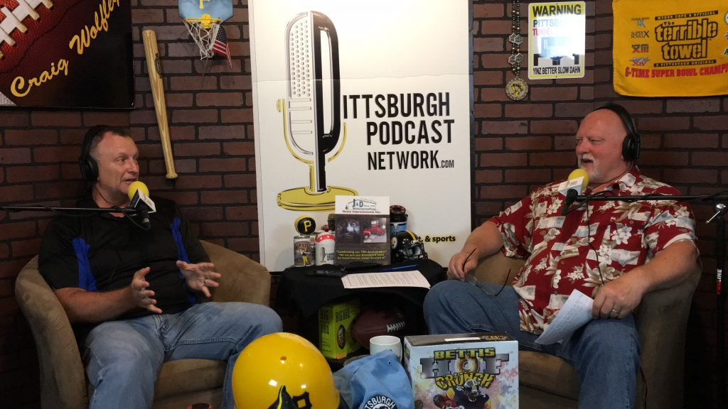 Pittsburgh Steelers Insiders Jim Wexel Craig Wolfley