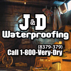 Thanks as always to our title sponsor, J&D Waterproofing.