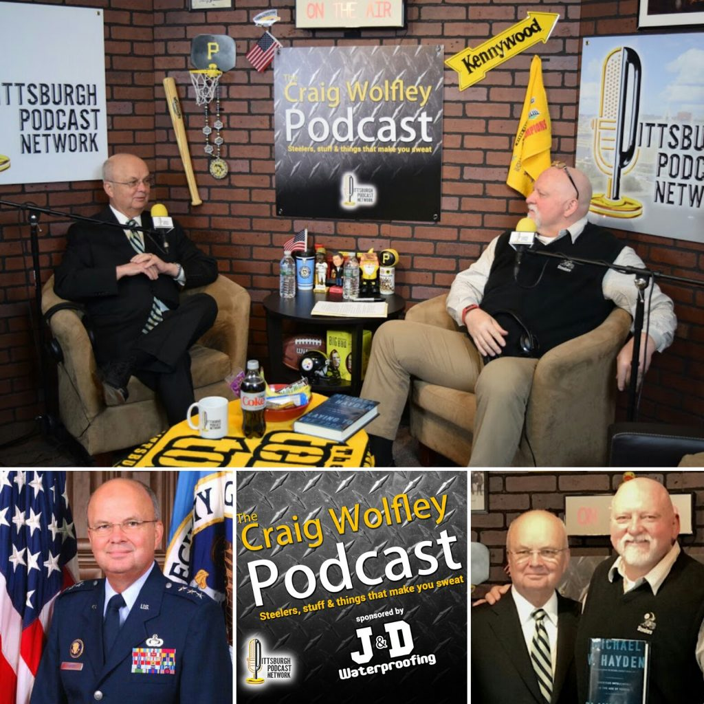 CraigWolfley_GenMichaelHayden_PittsburghPodcastNetwork