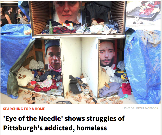 'Eye of the Needle' shows struggles of Pittsburgh's addicted, homeless